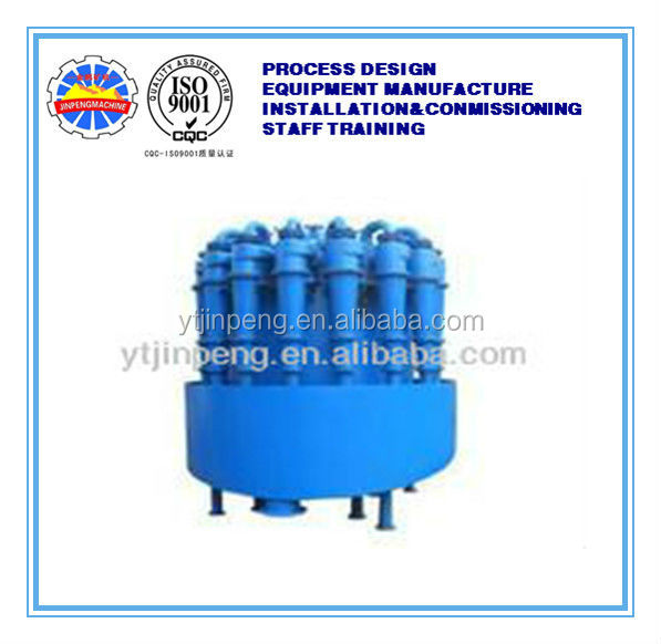 gold equipment cyclone mineral separator/ Hydrocyclone group gravity separation machine