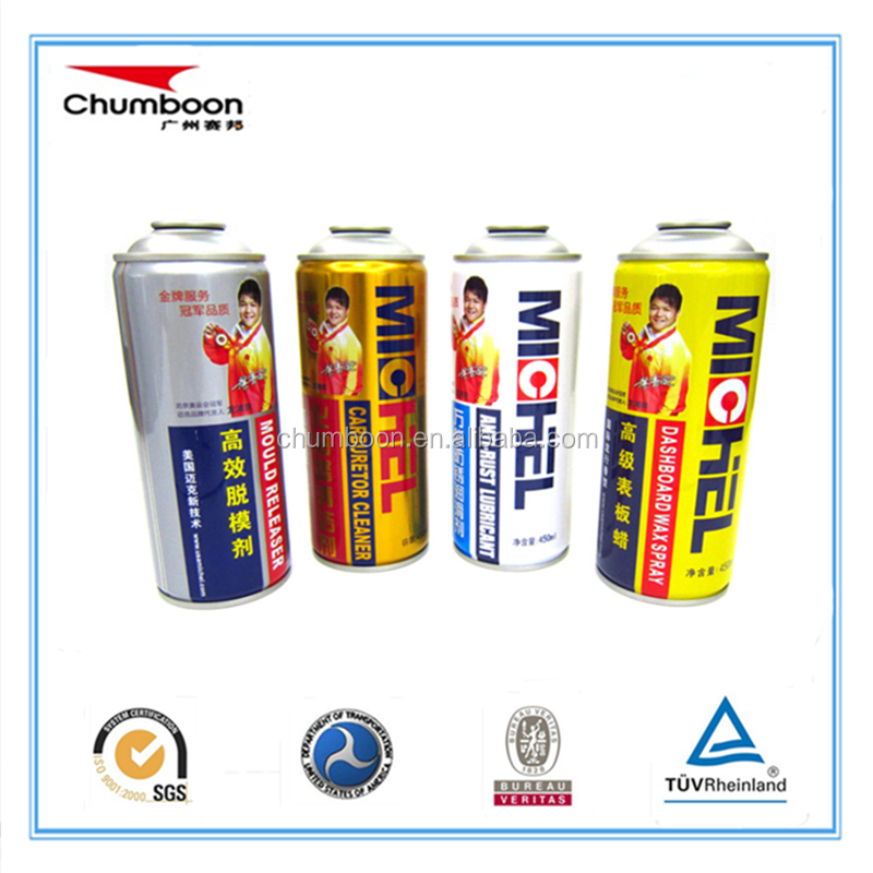 hot sale empty aerosol tin can for mould release