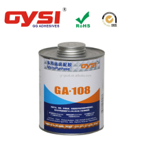 GYSI clear acrylic adhesive cement GA108 with excellent gap filling performance