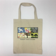 Hot selling best black canvas tote bag