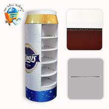 Leader Display 4 Pack Bottle Carrier Six Pack Red Wine And Beer Bottle With Handle Cardboard Boxes