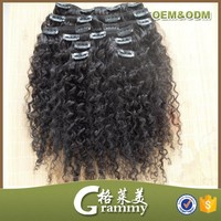 alibaba express turkey Hair Styling mongolian kinky curly clip in hair extensions