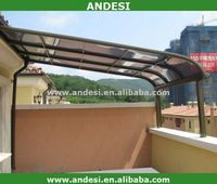 polycarbonate roof solid patio covers