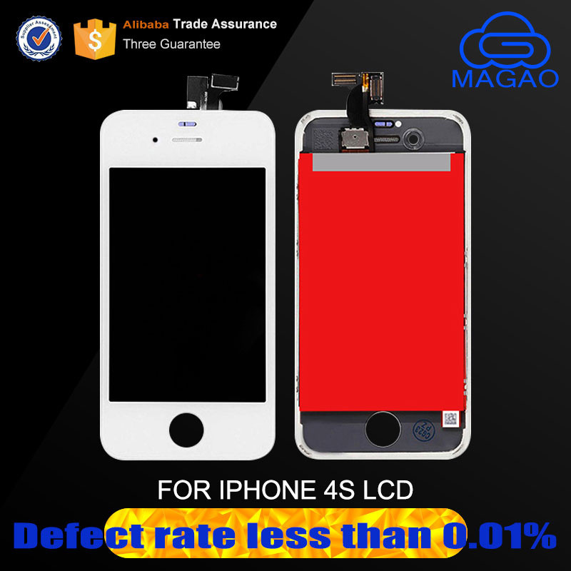 Tianma AAA mobile phone 3.5 inch lcd touch screen digitizer assembly for iphone 4S