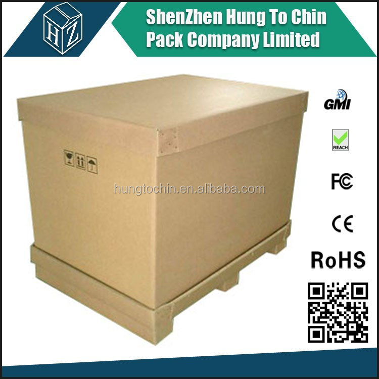 Custom size and print container shipping strong cardboard heavy duty packaging box