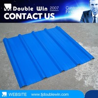 Color coated corrugated roofing materials SGS/CE Certificates 1m/1.25m base plate 0.2-1.2mm thickness color coated roofing sheet