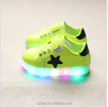 Kids Shoes Spring Autumn New Breather Children Shoes With Light Baby Boys Led Light Sport Shoes Girls Sneakers