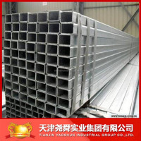40x60 specification Pregalvanized rectangular steel pipes tubes china manufacture