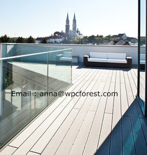 wpc m2 price decking crack-resistant decking good price wood plastic composite decks