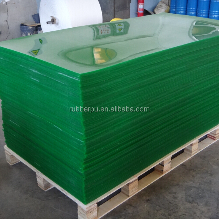70a 80a 90a shore hardness Duro casting polyether polyurethane pu rubber sheets