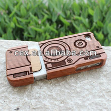 New Arrival Wooden Camera Ultra Thin Protective Case for iPhone 4 4S