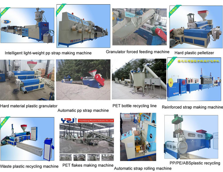 10% Off waste PP PE ABS plastic recycling machine plastic granulator