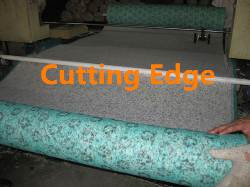 Cloth foam underlay for carpet and wood flooring