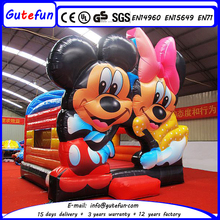GUTEFUN brand new fashion factory top sale inflatable castle mickey mouse for family parties