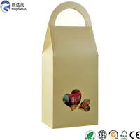 Stand Up Paper Box With Heart
