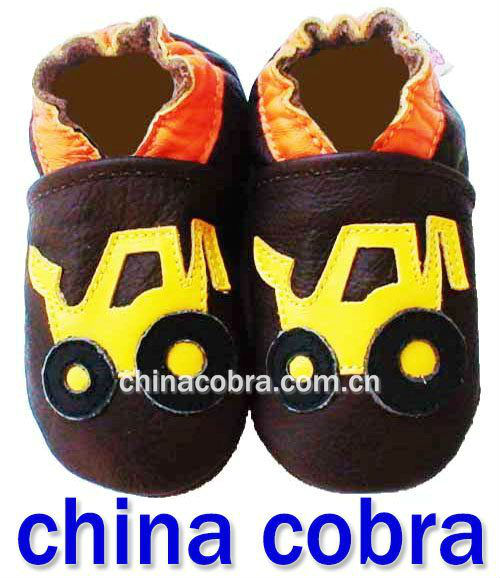 free shipping high quality soft sole genuine leather fashion baby shoes