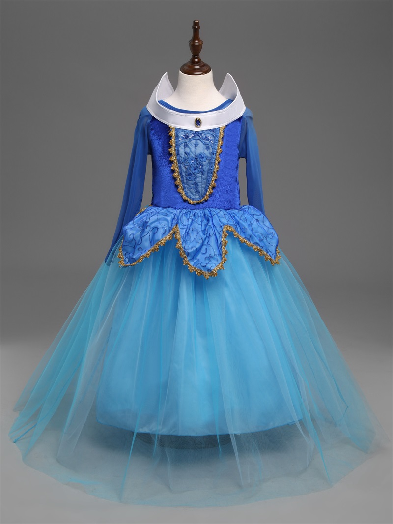 4 10 Year Girls Cosplay Costume Dresses Princess Fairy Dress for ...