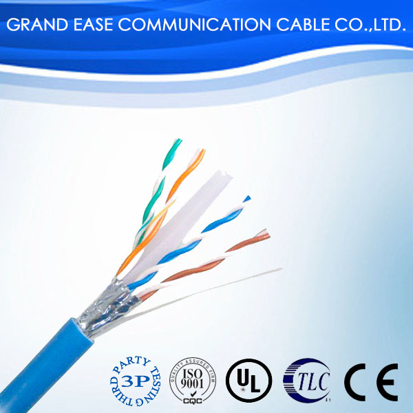 factory price shield ftp cat6 LAN cable test 2017 ISO/IEC11801,CE, RoHS