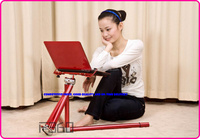 foldable and adjustable laptop table