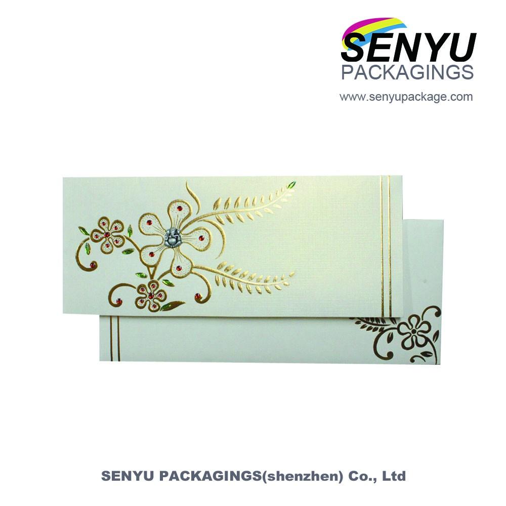 Great Handmade Border Greeting Card Designs Printing Custom Standard