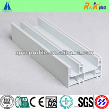 White PVC Profile for Windows and Doors