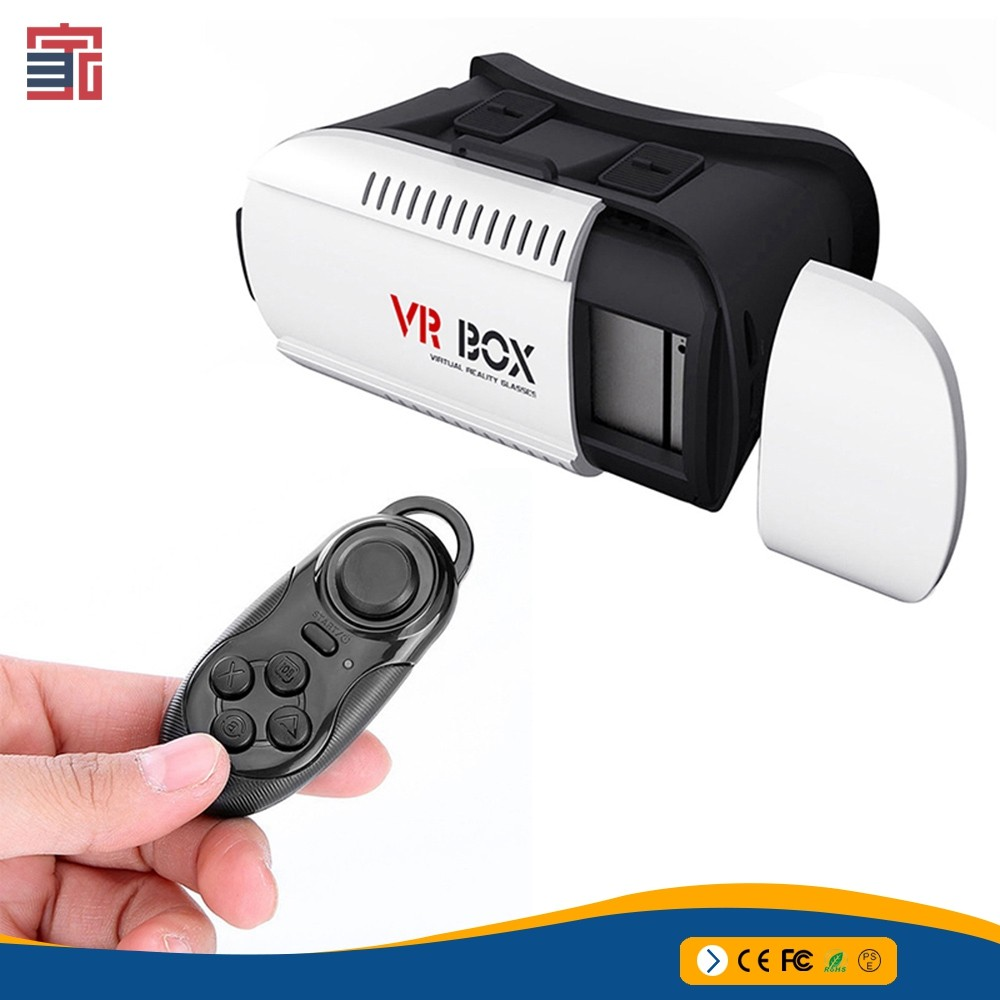 2017 new product 2nd generation vr box video 3D glasses for smartphone