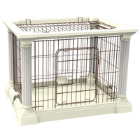 Cheap white color metal cat house big cat cage