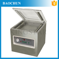 DZ400A Stainless steel single chamber table fresh fruit vacuum packing machine