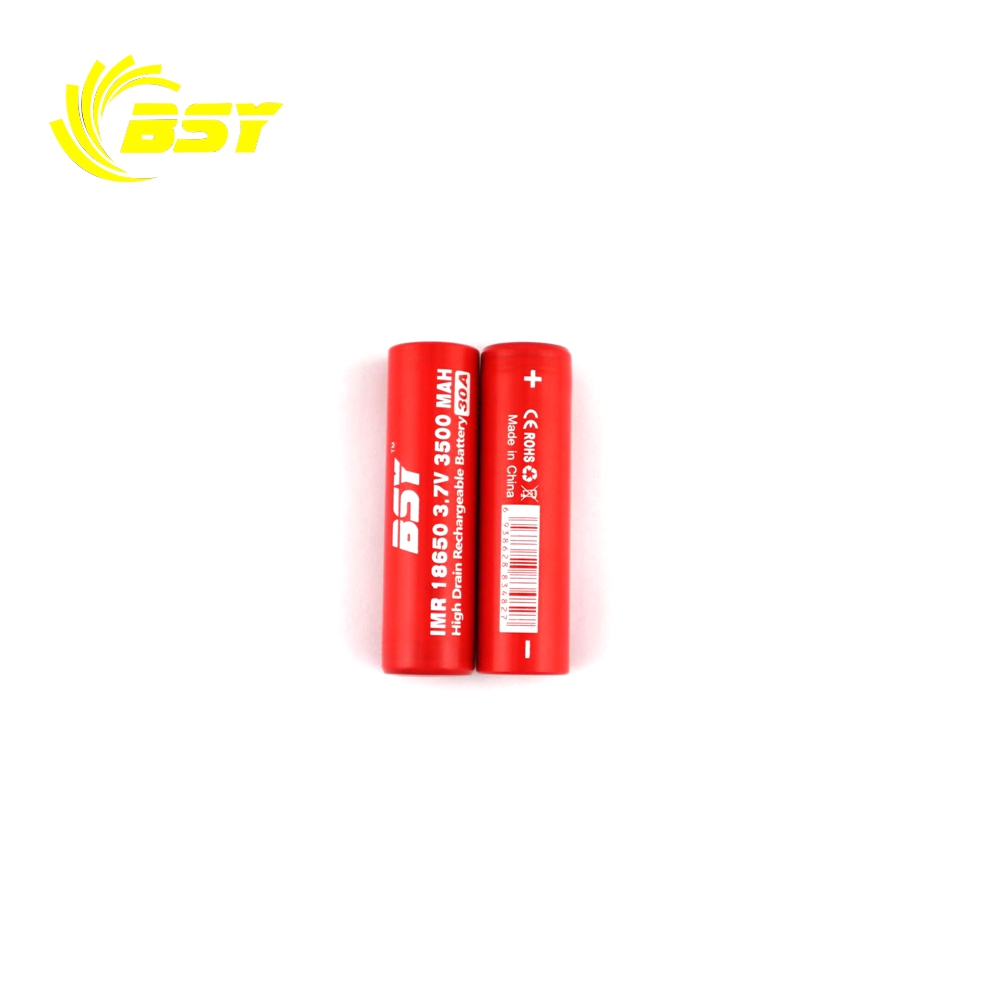 2018 lithium ion battery 18650 li ion battery 3500mAh 3.7V BSY rechargeable battery pack for portable dvd player