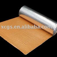 Orange Coated Foil Thermal Break Closed Cell Foam Thermo Insulation Reflective Roofing