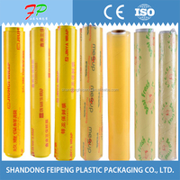 plastic wrap cling film vegetable packing rolls