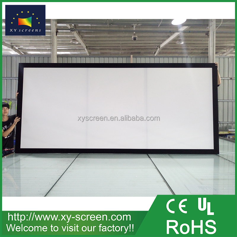 XYSCREEN Home theater fixed frame projector screen