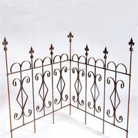 Wall Mounted and Metal,case iron Material New Design Forged Iron Railing