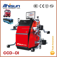 CCD bluetooth wireless laser truck alignment machine four