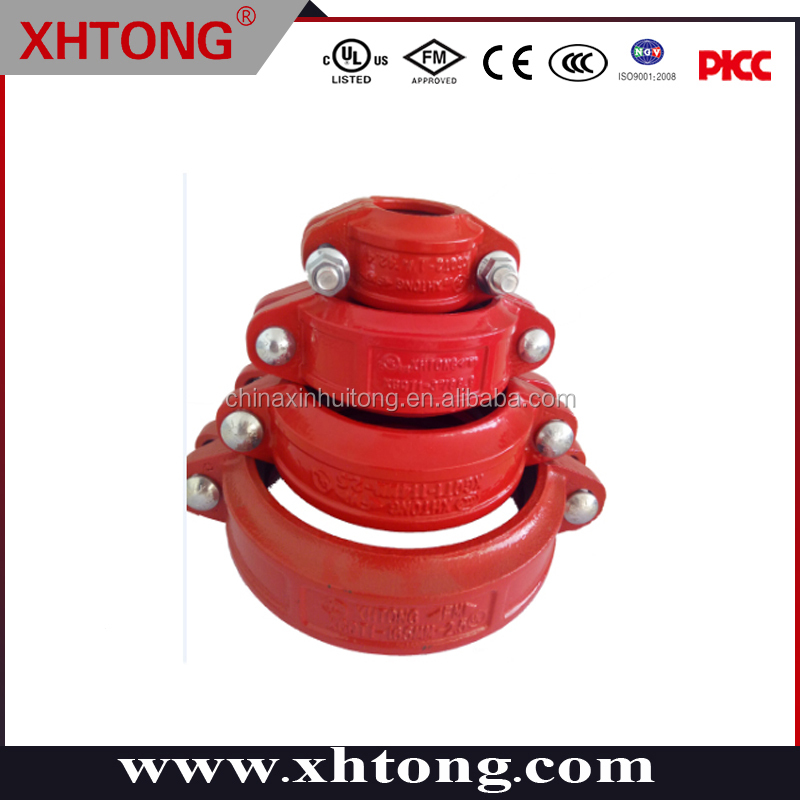 1-12'' light rigid coupling grooved pipe fittings piping delivery