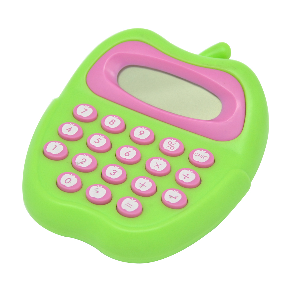 Apple shape beautiful calculator Nice Gifts for Kids, 8 Digital