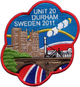 Sweden Embroidered with Stitched Border, Embroidery badges in high quality and Compititive prices