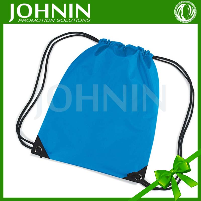 Hot selling New recycle nylon polyester string bag with logo print