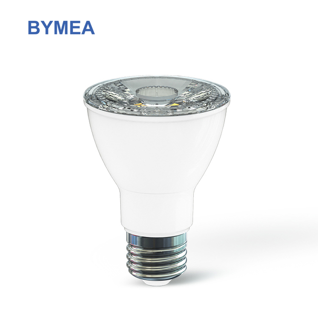 Bymea High CRI dimmable California Quality IP65 40 degree beam angle E26 Par20 7w LED spotlight Lamp