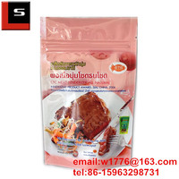 stand up plastic beef steak bag