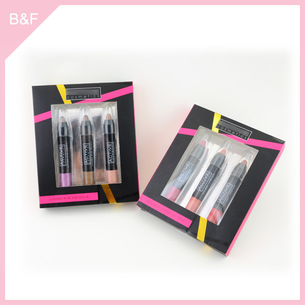 Moisture lipstick crayon 2015 new cosmetic lipstick molds makeupbrush