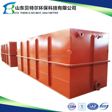 Factory Price Underground Integrated Waste Water Treatment Equipment For Hotel/Hospital/Community/Factory