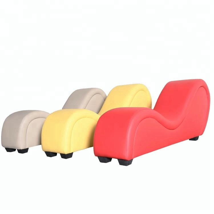 leather s shape red adult make love dildo sex sofa chair