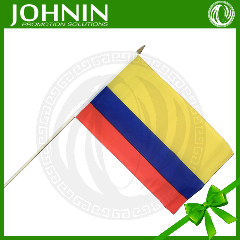 Banner Printing Factory Made Mini Hand Waving Stick Flags