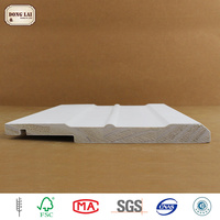 High Quality China Fir Wood white gesso primed finger Jointed Boards For Furniture And Diy Project