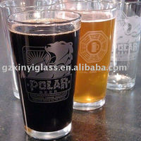 16oz Pint beer glass / beer promotional gift