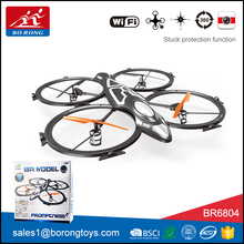5.8G fpv 2.4G six axis gyro rc camera drone with hd camera professional BR6804