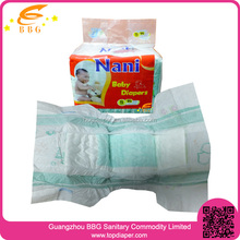 Dry Surface Absorption Printed Adult Baby Disposable Diapers