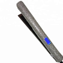 Brand-new bling rhinestone flat iron hair straightener with gorgeous crystal shine