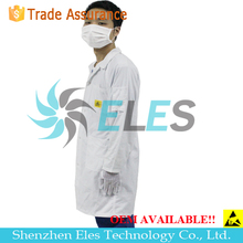 Plastic cotton smock with CE certificate